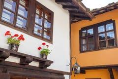Casas em Bulgária fotos de stock