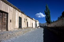 Casas em Cachi, Salta, Argentina foto de stock royalty free