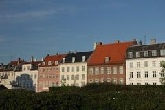 Casas em Copenhaga Imagens de Stock