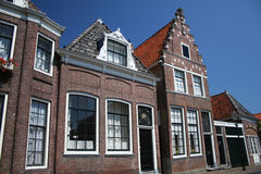 Casas em Enkhuizen Fotos de Stock Royalty Free