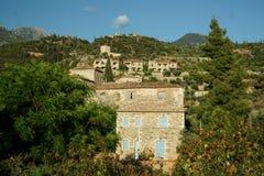 Casas em Greece fotografia de stock