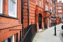 Casas em Kensington imagem de stock royalty free