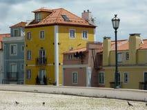 Casas em Lisboa Imagem de Stock Royalty Free