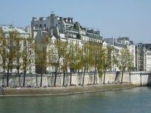 Casas em Paris Fotografia de Stock