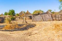 Casas em Rashid, Sudão Fotos de Stock
