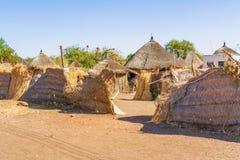 Casas em Rashid, Sudão Fotografia de Stock Royalty Free