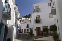 Casas em Salobrena imagem de stock