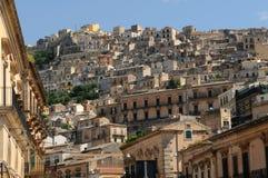Casas em Sicília imagens de stock royalty free