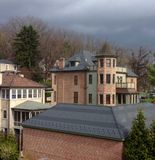 Casas em Staunton Virgínia Foto de Stock Royalty Free