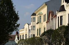 Casas em Veszprem Fotos de Stock