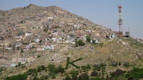Casas empleadas una colina almacen de video