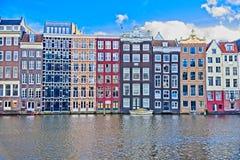 Casas en Amsterdam Fotografía de archivo