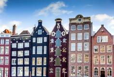 Casas en Amsterdam Imagen de archivo