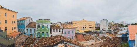 Casas en Bahía, Salvador - el Brasil foto de archivo libre de regalías