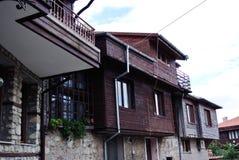 Casas en Bulgaria Fotos de archivo