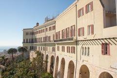 Casas en Castello imágenes de archivo libres de regalías