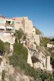 Casas en Castello imagen de archivo