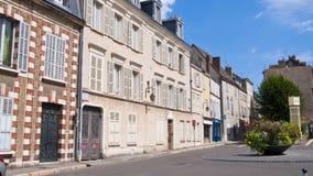 Casas en Chartres francia Imagen de archivo libre de regalías