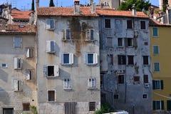 Casas en Croatia Fotografía de archivo