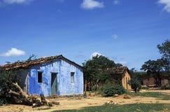 Casas en el Brasil rural Imagen de archivo libre de regalías