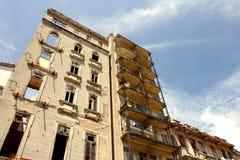 Casas en el la La Habana fotografía de archivo