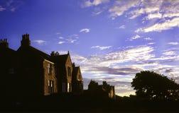 Casas en Escocia Foto de archivo libre de regalías
