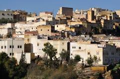 Casas en Fes, Marruecos Imagenes de archivo