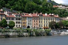 Casas en Grenoble Foto de archivo libre de regalías
