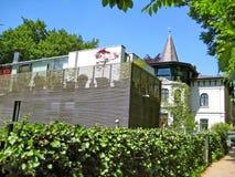 Casas en Hamburgo Blankenese Imágenes de archivo libres de regalías