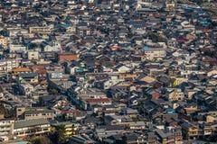 Casas en iwakuni Fotografía de archivo libre de regalías