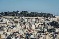 Casas en Jerusalén Foto de archivo libre de regalías