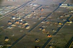 Casas en la Arabia Saudita Fotos de archivo