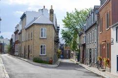 Casas en la ciudad Foto de archivo libre de regalías