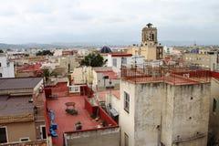 Casas en la costa de Orihuela, España Fotos de archivo libres de regalías