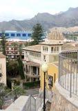 Casas en la costa de Orihuela, España Fotografía de archivo libre de regalías