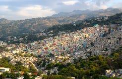 Casas en la montaña Imagen de archivo