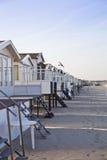 Casas en la playa Fotos de archivo libres de regalías