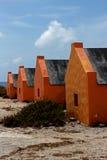 Casas en la playa Imágenes de archivo libres de regalías