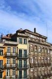 Casas en Oporto Foto de archivo libre de regalías