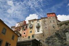 Casas en Oporto, Portugal Foto de archivo libre de regalías