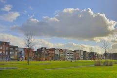 Casas en Roombeek reconstruido Fotografía de archivo