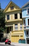 Casas en San Francisco Imágenes de archivo libres de regalías