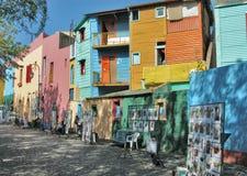 Casas en San Telmo Imágenes de archivo libres de regalías