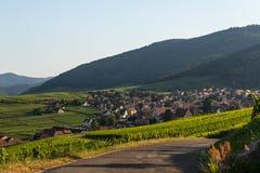 Casas en Suiza Imagenes de archivo