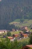Casas en Suiza Fotografía de archivo libre de regalías