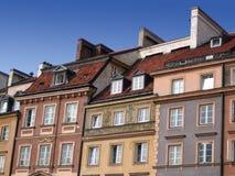 Casas en Varsovia Fotos de archivo