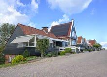 Casas en Volendam, Países Bajos Fotografía de archivo libre de regalías