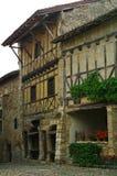 Casas enmarcadas de la madera Foto de archivo libre de regalías