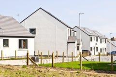 Casas escocesas Imagen de archivo libre de regalías