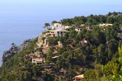 Casas espanholas típicas Fotografia de Stock